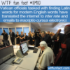 WTF Fun Fact – Inscriptio Cursus Electronici