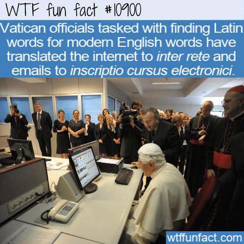 WTF Fun Fact - inscriptio cursus electronici