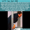 WTF Fun Fact – Actor Accidentally Slits Throat
