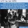 WTF Fun Fact – Hitchcock's Tea Cups