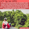 WTF Fun Fact – As Canadian As