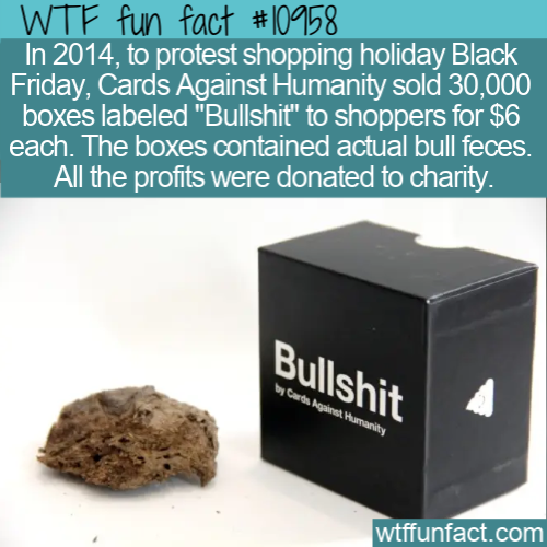 WTF Fun Fact - Cards Against Humanity's Bullshit