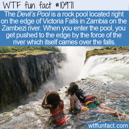 WTF Fun Fact - Devil's Pool