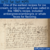 WTF Fun Fact – Awful Icy Cream Recipe