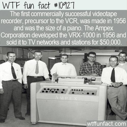 WTF Fun Fact - Beginning Of VCR