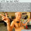 WTF Fun Fact – Magnet Man