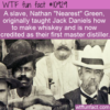 WTF Fun Fact – Nearest Green Master Distiller