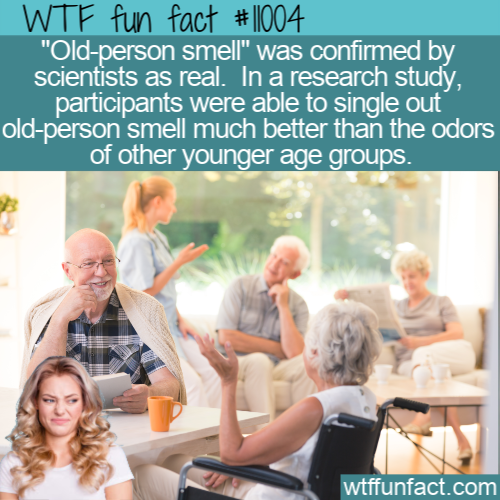 WTF Fun Fact - Old-person Smell