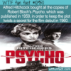 WTF Fun Fact – Psycho's Secrecy