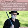 WTF Fun Fact – Sir Terry Pratchett's Sword