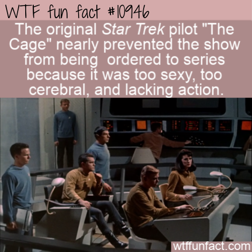 WTF Fun Fact - Star Trek Too Erotic