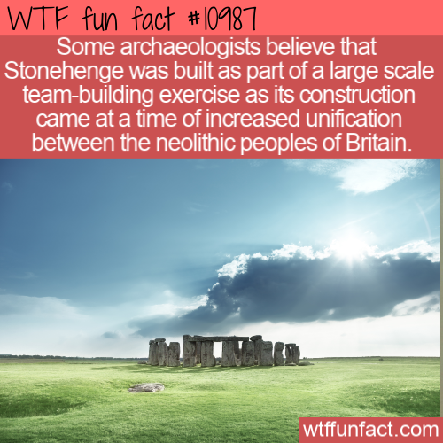 WTF Fun Fact - Stonehenge Theory