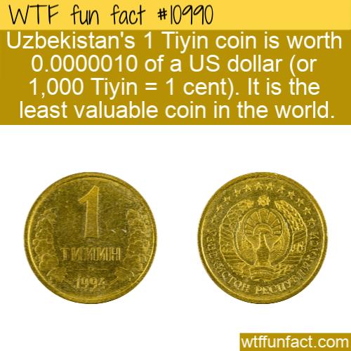 WTF Fun Fact - Tiyin