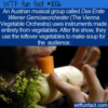 WTF Fun Fact – Vegetable Orchestra