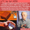 WTF Fun Fact – First Computer Mouse