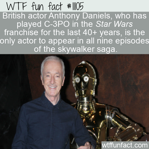 WTF Fun Fact - Anthony Daniels