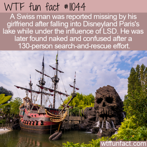 WTF Fun Fact - Bad Disneyland Trip