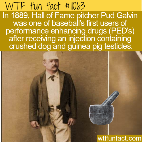 WTF Fun Fact - Baseball's First PED
