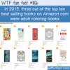 WTF Fun Fact – Best Selling Adult Coloring Books