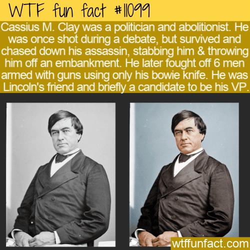 WTF Fun Fact - Cassius Marcellus Clay