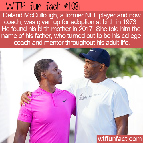 WTF Fun Fact - Deland McCullough's Story