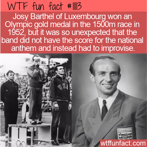 WTF Fun Fact - Didn't Know National Anthem For Luxembourg