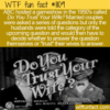 WTF Fun Fact – Do You Trust Your Wife?