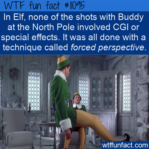 WTF Fun Fact - Forced Perspective In ELF