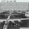 WTF Fun Fact – Ford Made 25 Bombers A Day