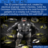 WTF Fun Fact – Functional Batman Cosplay