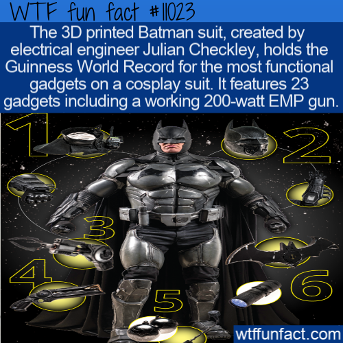 WTF Fun Fact - Functional Batman Cosplay