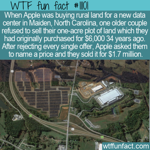 WTF Fun Fact - House Sold To Apple