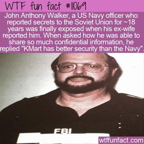 WTF Fun Fact - John Anthony Walker