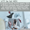 WTF Fun Fact – Missing Sleepwear