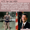 WTF Fun Fact – Lifeguard Ronald Reagan
