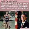 WTF Fun Fact – Lifeguard Ronald Reagan
