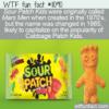 WTF Fun Fact – Mars Men Candy