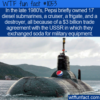 WTF Fun Fact – Pepsi's Navy