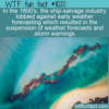 WTF Fun Fact – Ship-Salvage Lobbyists