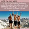 WTF Fun Fact – Topless Ban Costs $300k