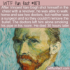 WTF Fun Fact – Vincent Van Gogh's Death