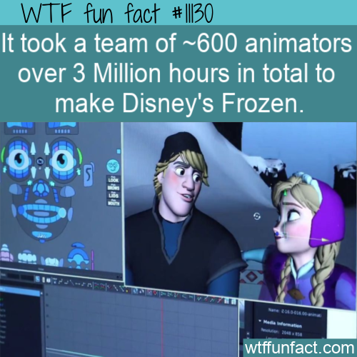 WTF Fun Fact - 3 Million Man Hours