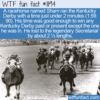 WTF Fun Fact – A Horseracing Sham