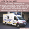 WTF Fun Fact – Ambulance With A Doctor