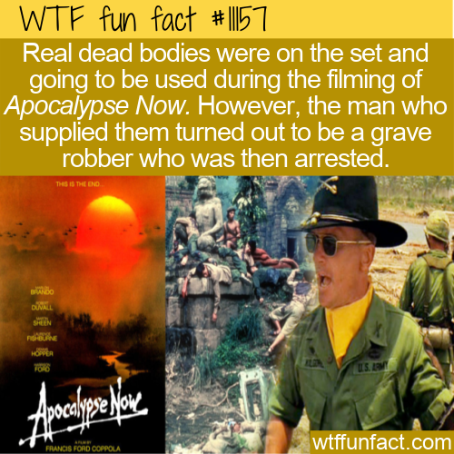 WTF Fun Fact - Apocalypse Now Bodies