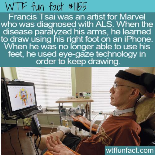 WTF Fun Fact - Artist Francis Tsai