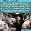 WTF Fun Fact – Ballet Shoe Budget