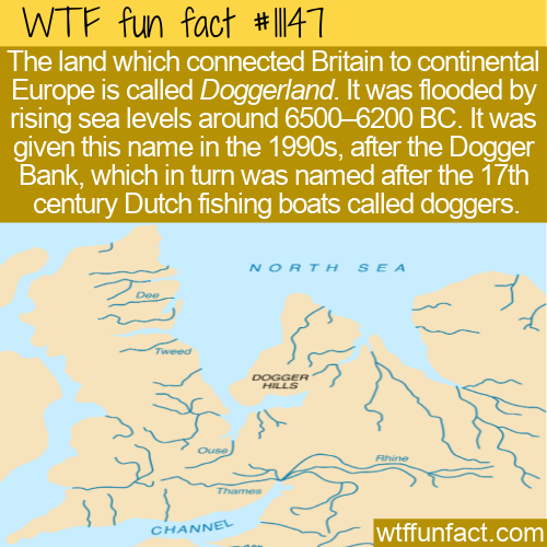 WTF Fun Fact - Doggerland