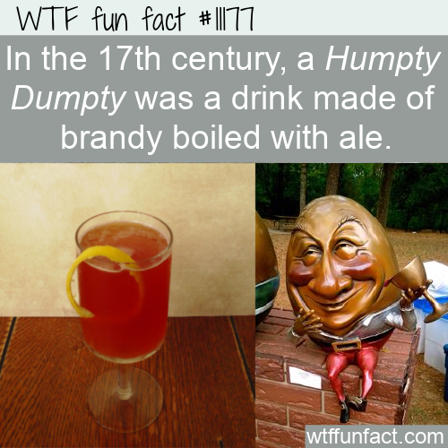 WTF Fun Fact - Humpty Dumpty A Cocktail Story