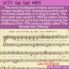 WTF Fun Fact – Mondegreen